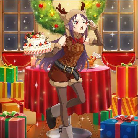 """★4スキルレコード""""【お茶目な聖誕祭】ユウキ""""の詳細!"""